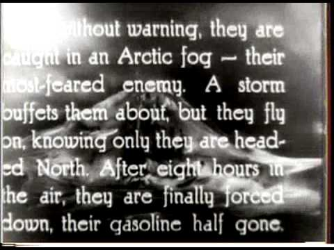 The Amundsen Polar Flight (1925)