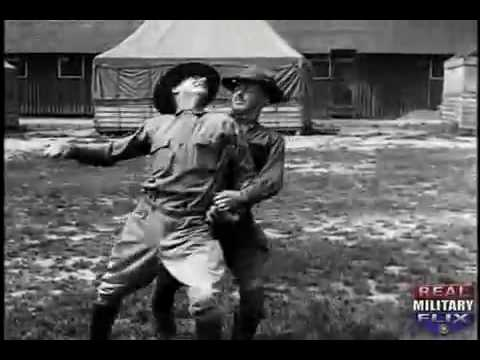 The US Army's Hand-To-Hand Fighting Moves of WWI