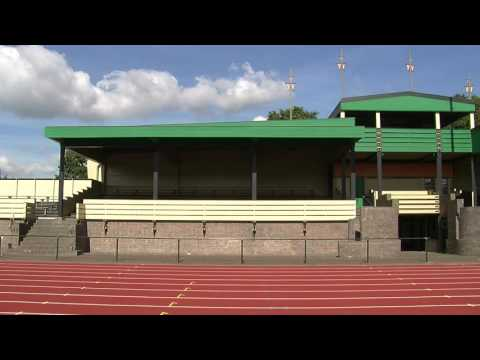 Sports Grandstand Hilversum by Dudok