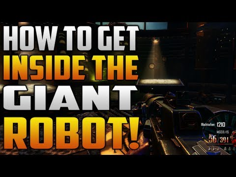 How to get inside the giant dieselpunk robot in Black Ops 2: Origins