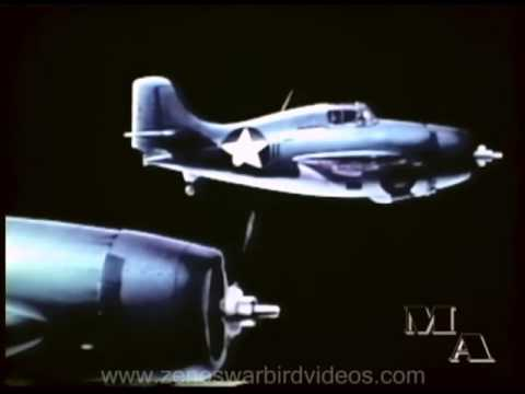 Offensive Tactics Against Enemy Fighters in World War 2  - Restored Color 1943