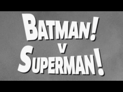 Batman v Superman (1949 version)