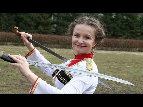 НАСТОЯЩИЕ КАЗАЧКИ!!!! (A REAL COSSACK WOMAN) ХИТ!!