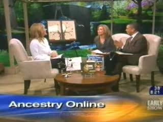 Regina Lewis-CBS The Early Show-Ancestry Online