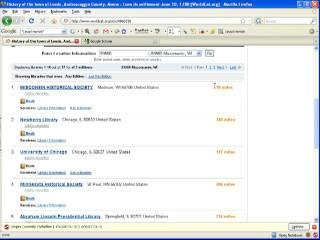Google Scholar: Genealogy Style