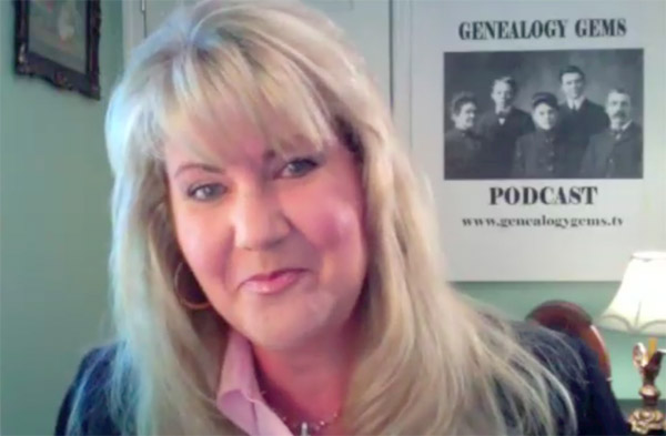 Voices of the Past Video Netcast: Genealogy Gems' Lisa Louise Cooke on establishing roots in the social web