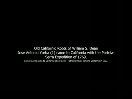 Old Californio Roots