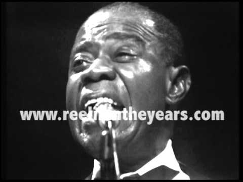 "Louis Armstrong ""What A Wonderful World"" LIVE 1970 (Reelin' In The Years Archives)"
