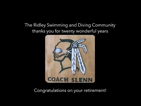 Ridley Swimming and Diving Twenty Year Tribute