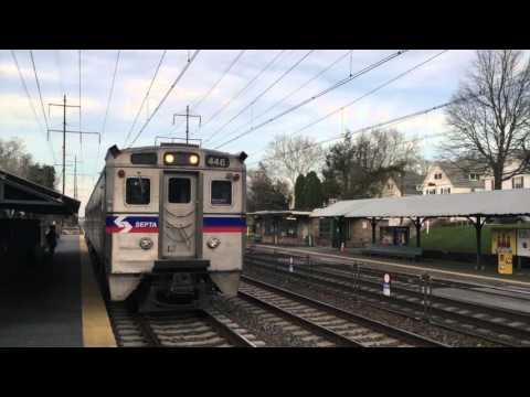 SEPTA R2, Regional Rail, Ridley Park Station (south bound)