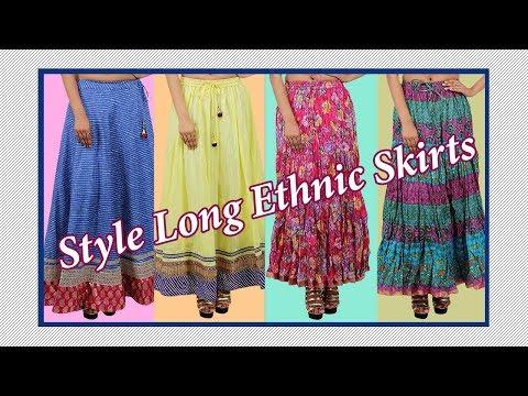 Type of Women Ethnic Skirts