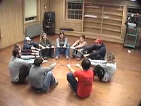 Yurt Circle - Duct Tape Teambuilding Game