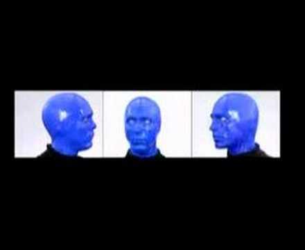 Blue Man Group on Global Warming