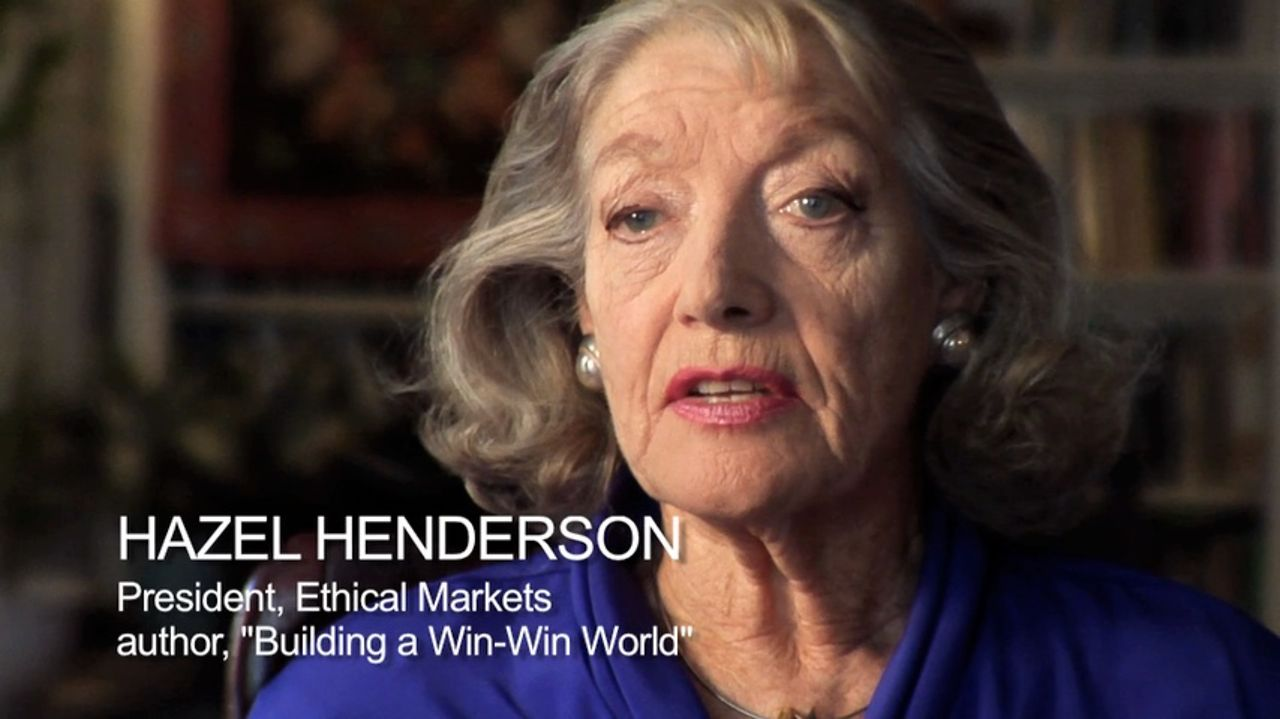 Hazel Henderson on the design revolution