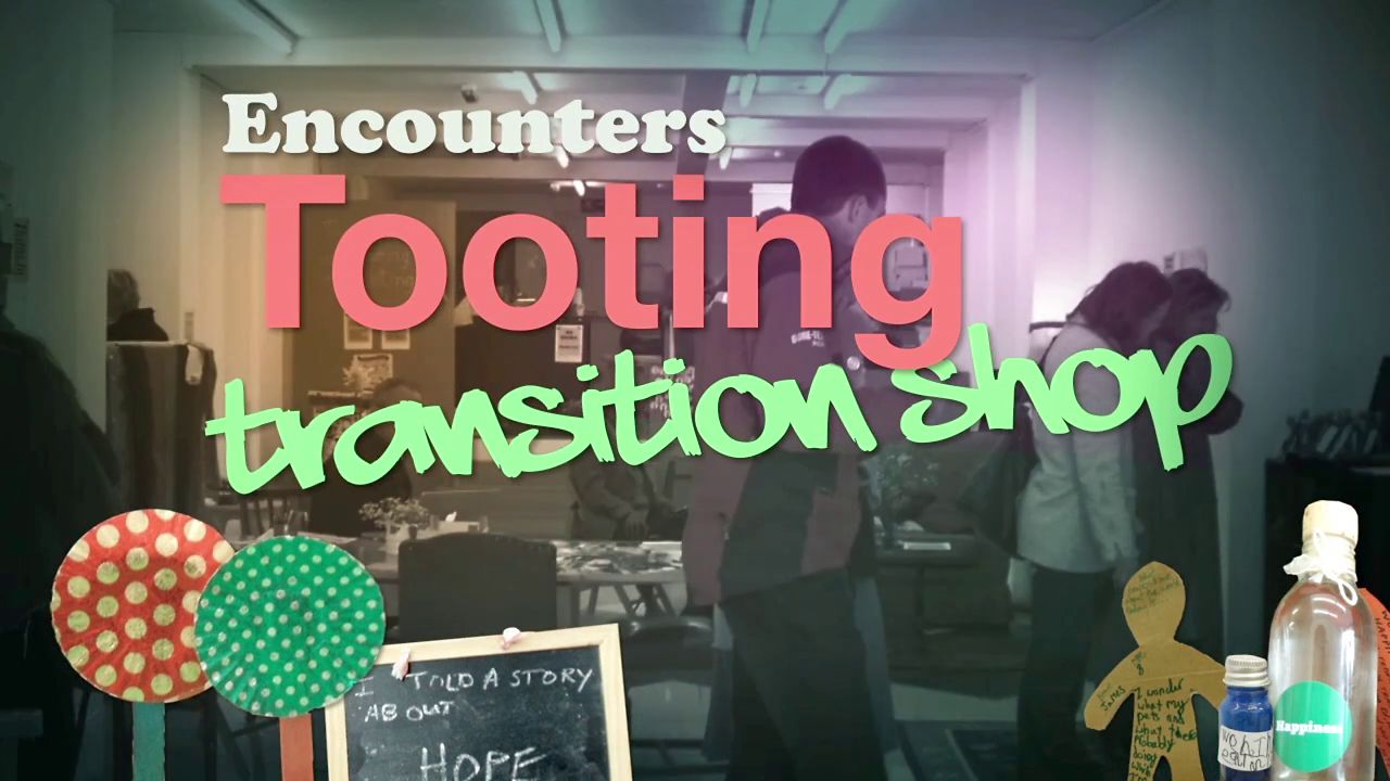 Encounters Transition Tooting Shop! Muito inspirador!