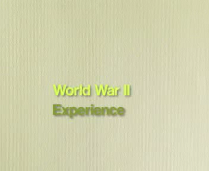 Army Experience