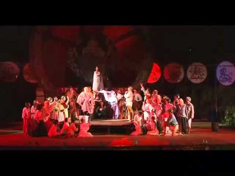 Carmina Burana - The Swan - Ivan Yonkov, tenor - Summer Theater, Varna, Bulgaria