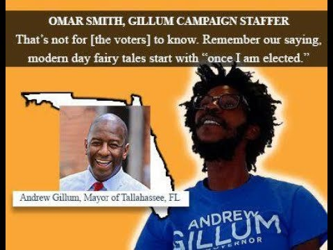 """Gillum Staffer Says Voters """"not for them to know"""" promises won't happen; FL """"f***ed"""" cracker state"""""""