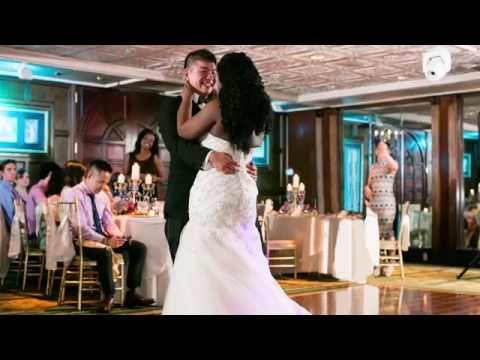 How Timolin + Eric Celebrated Their Blasian Multicultural Wedding