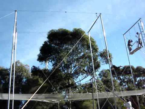 Flying Trapeze Hocks Salto