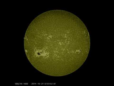 Sunspot Group AR 2192 Crackles