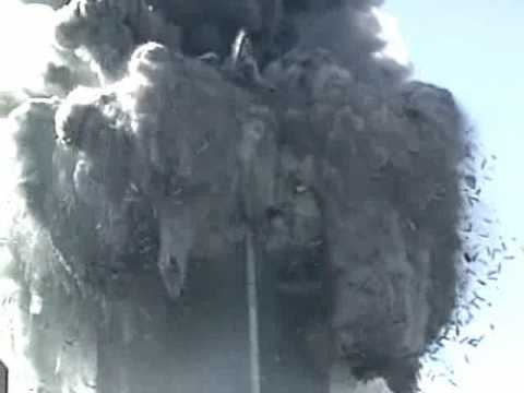North Tower Exploding