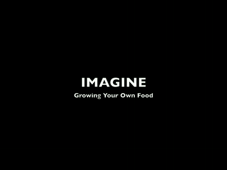Imagine:  Growing Your Own Food