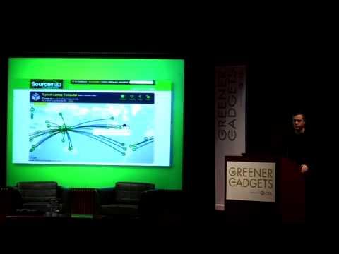Leonardo Bonanni on Sourcemap.org @ Greener Gadgets 2010
