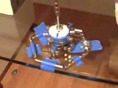 MAGNETIC MOTOR (9 Harmonic MPMM k-Mets)