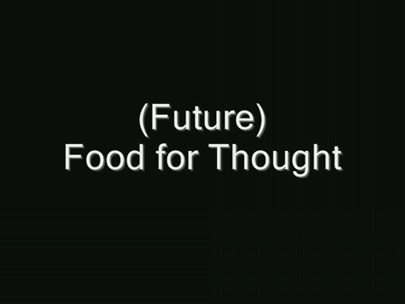 (IMAGINE2) Food for Thought