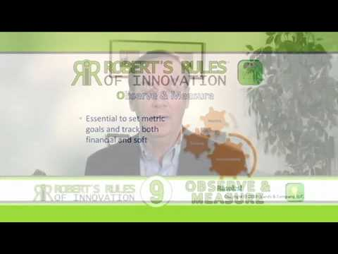 Robert's Rules of Innovation (New Book Info)