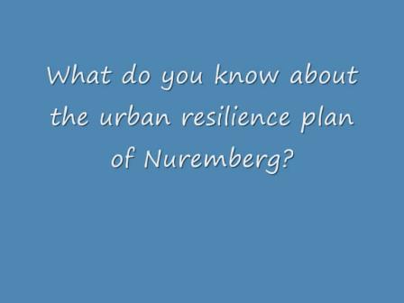 Urban Resilience Plan of Nuremberg