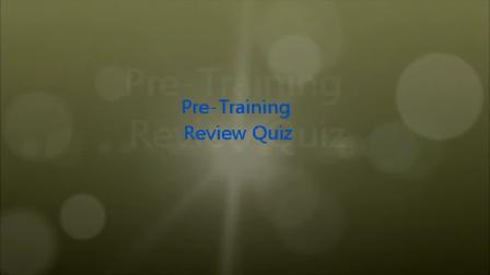 EF Pre-Training Review Quiz