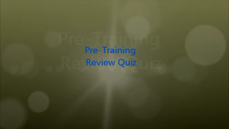 EF Pre-Training Review Quiz