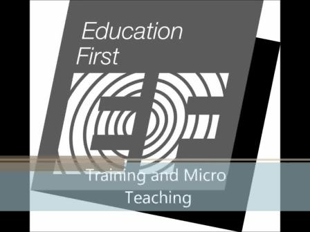 Training and Micro teaching
