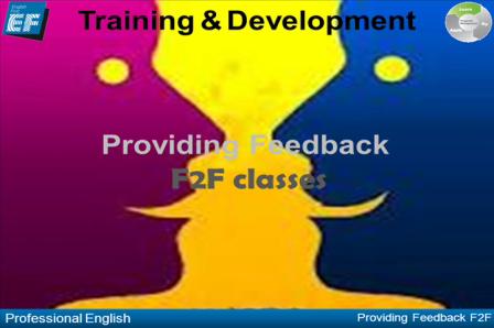 Providing Feedback F2F