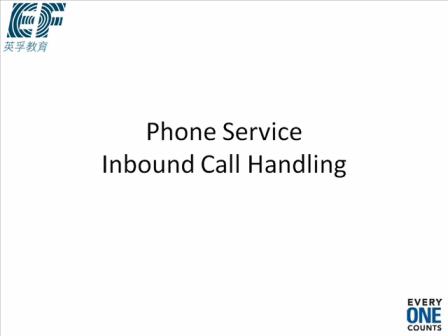 Phone Service 1