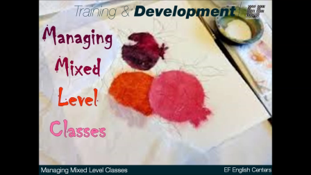 Managing Mixed Level Classes