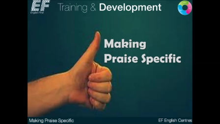 Making Praise Specific