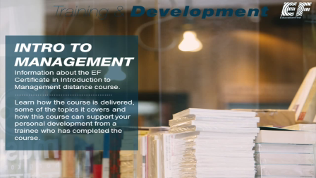 Intro to Management Distance Course