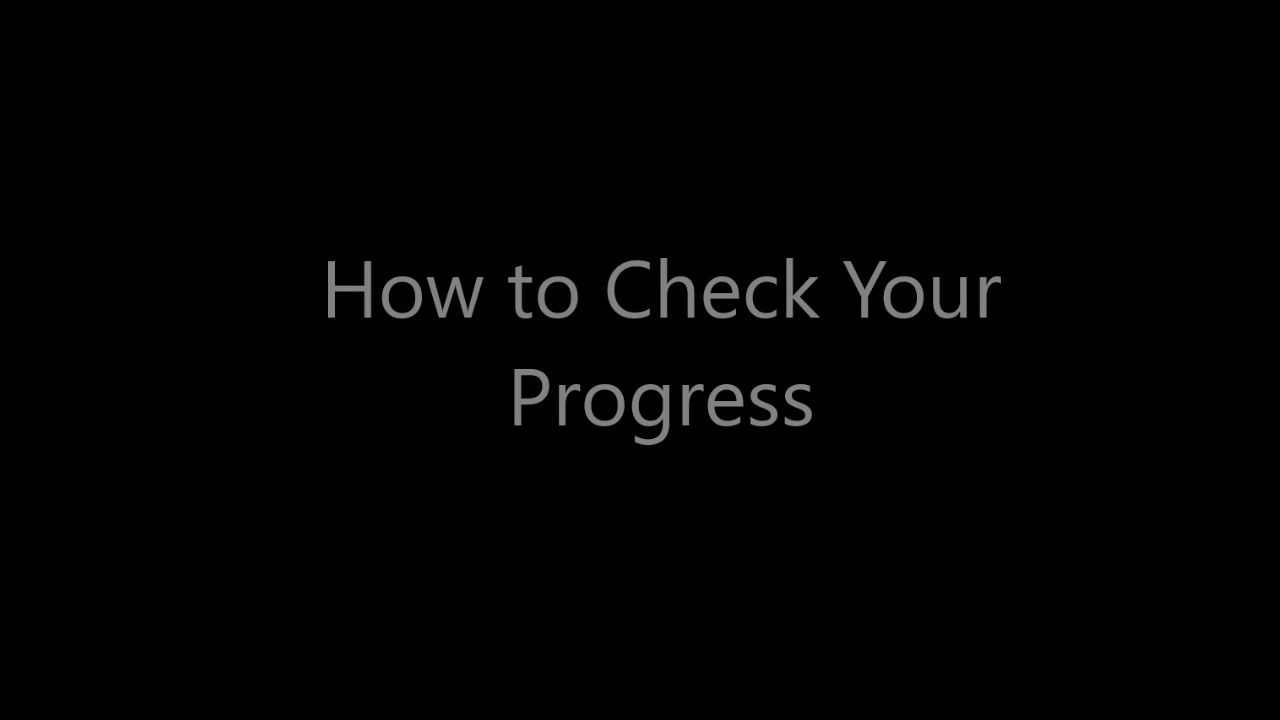 How to Check Course Progress in Motivis