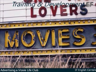 Advertising a Movie Life Club with Ross Thorburn