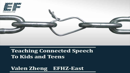 Connected speech with Valen Zheng