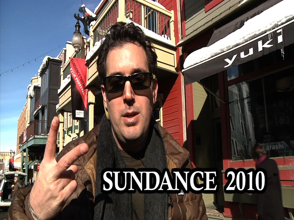 Peace: ' Tobias Huber On the Green Carpet' at Sundance 2010