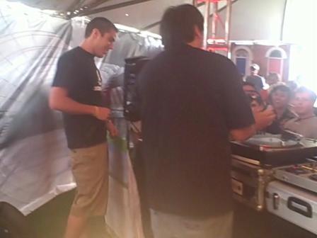 DJ Montez becomes MC Montez @ Coachella