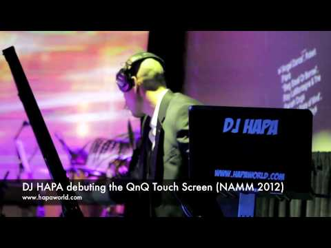 DJ HAPA debuts the QnQ at NAMM '12