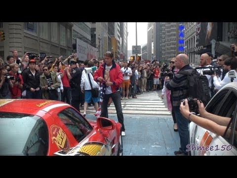 The Start of the 2012 Gumball 3000 Rally in New York