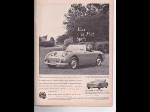British Car Ads 1953 - 1960