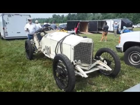 The Mighty 1912 Mercedes Attacts the 2018 Grand Ascent