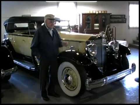 1932 Packard Sport Phaeton 905